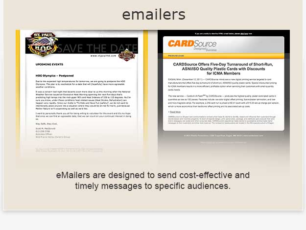 emailers